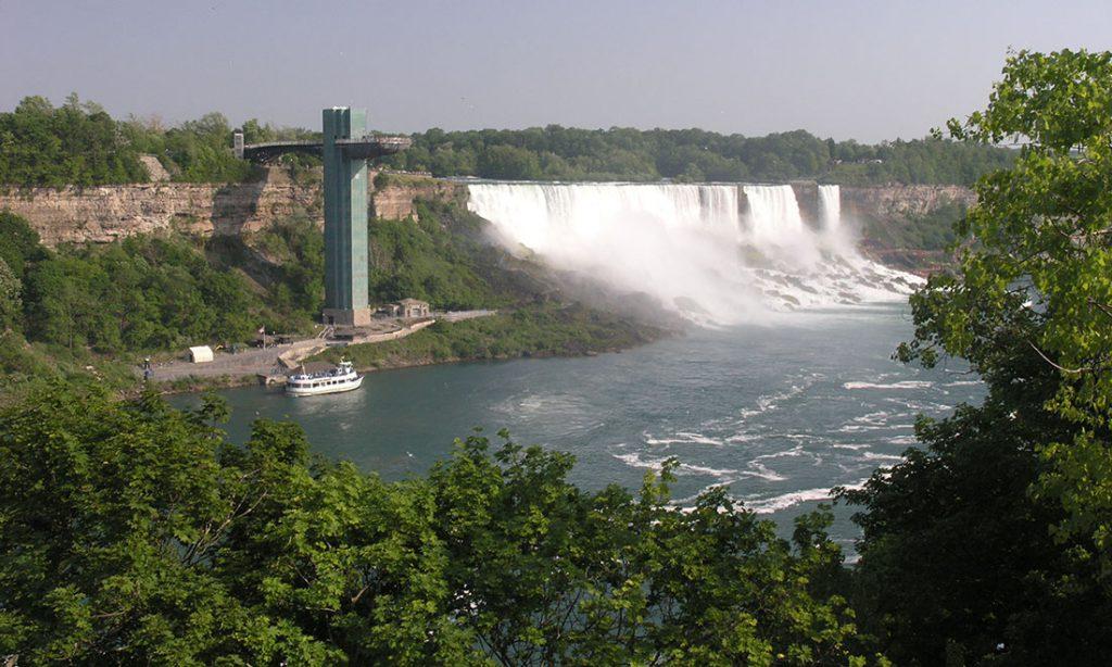 Waterfall in Niagara Falls