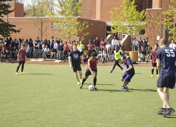 Peel Police Soccer Match 1