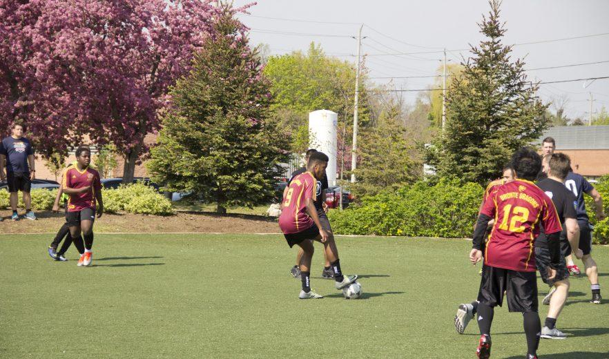 Peel Police Soccer Match 2