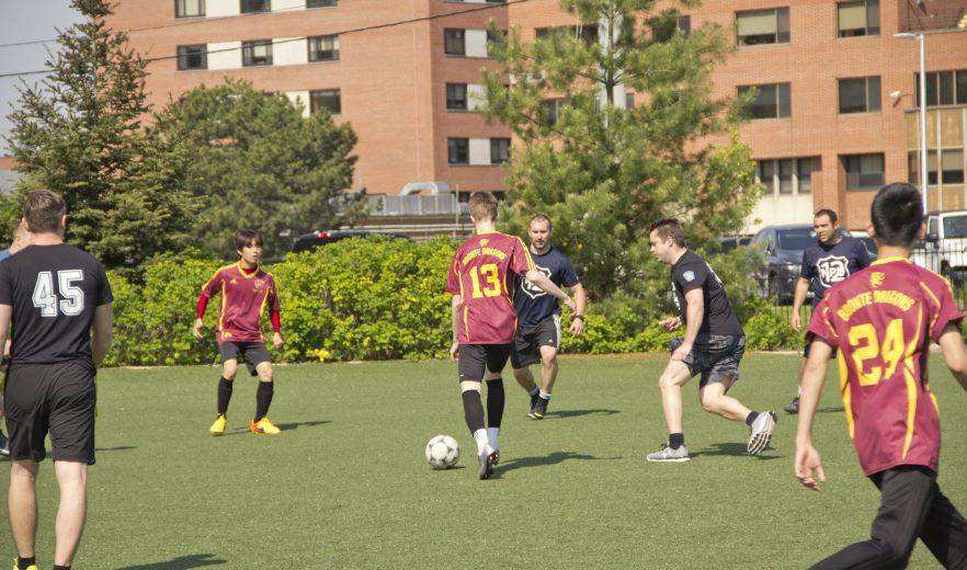 Peel Police Soccer Match 3