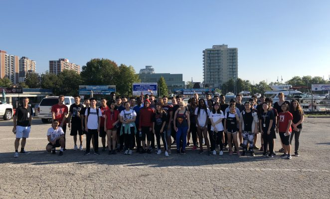 Bronte College Students at Terry Fox Run